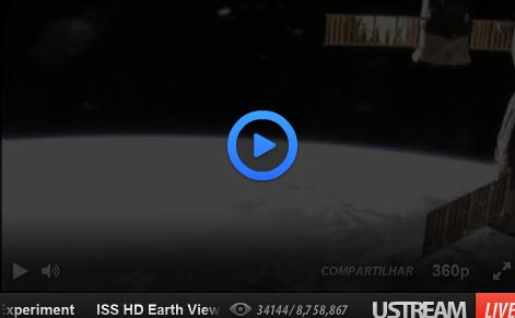 A Terra em direto a partir do Espaço – Impressionante