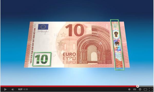 Novas notas de 10 euros já começaram a circular. Está preparado para as falsificações?