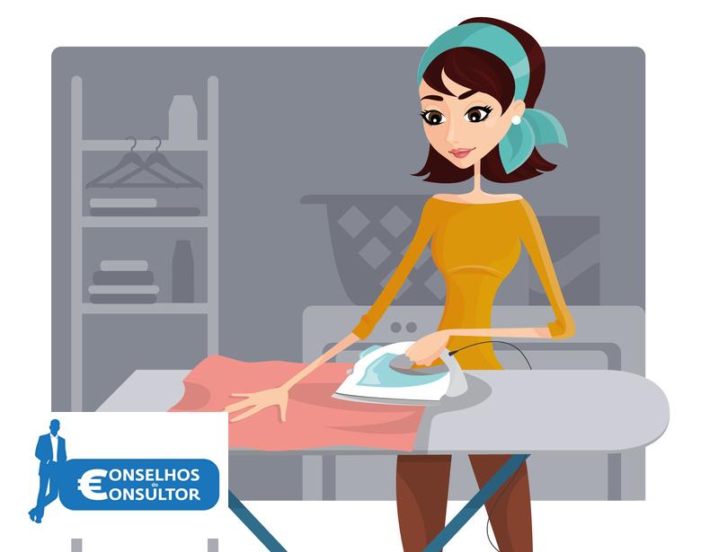 Tem empregada doméstica, não se esqueça de contratar o seguro obrigatório de acidentes de trabalho.
