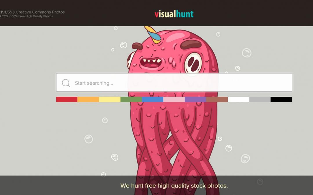 Visual Hunt – Mais de 350 Milhões de fotos GRÁTIS