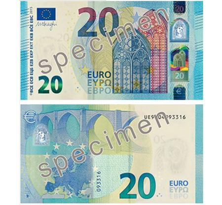 Conhece a Nova Nota de 20€