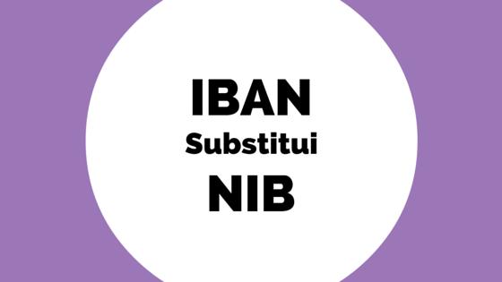 IBAN substitui o NIB a partir de Fevereiro