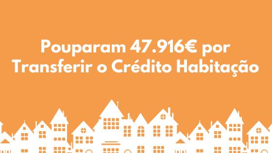 Pouparam 47.916€ por Transferir o Crédito Habitação