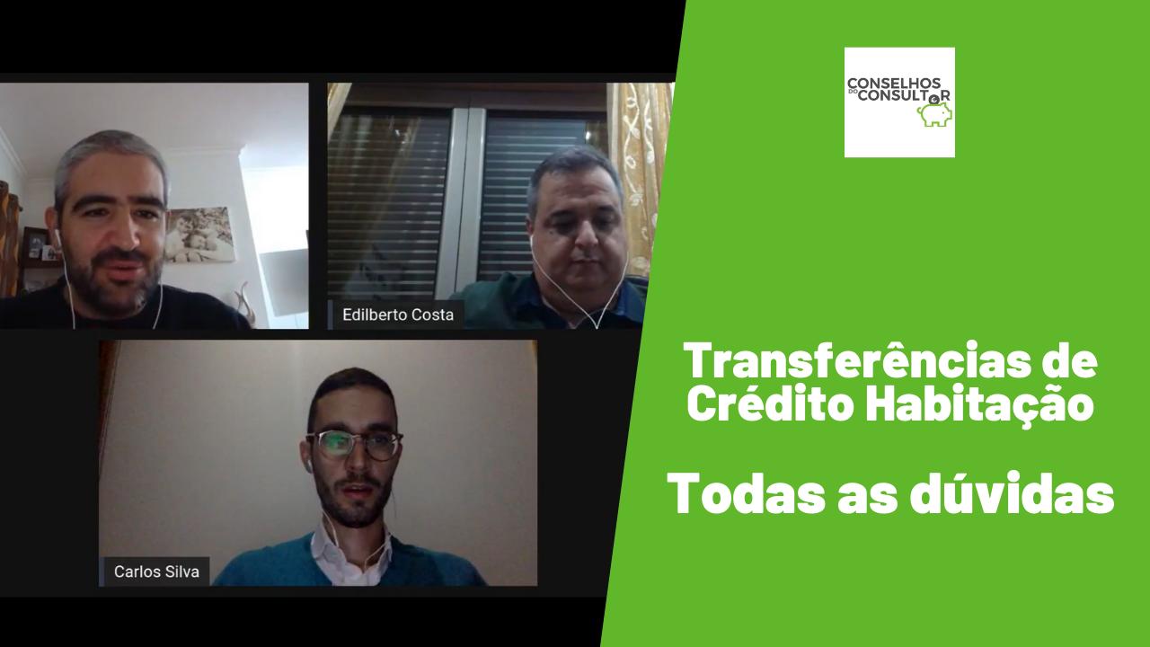 Transferências de Crédito Habitação