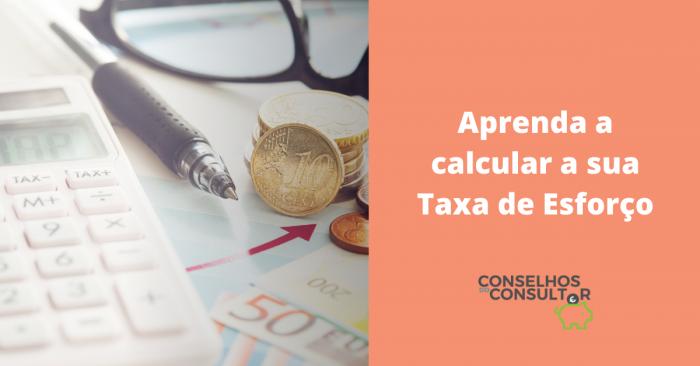 Como Calcular a Taxa de Esforço