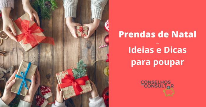 Prendas de Natal – Ideias e Dicas para Poupar