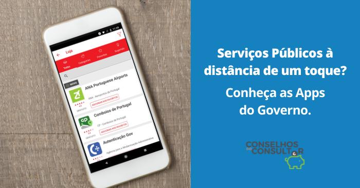 Conheça as Apps do Governo de acesso aos Serviços Públicos