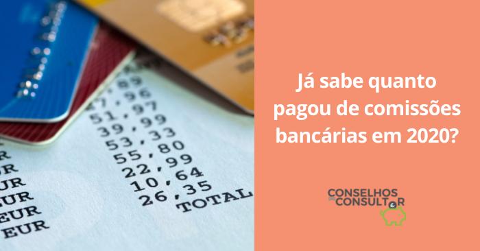 Extrato Comissões Bancárias