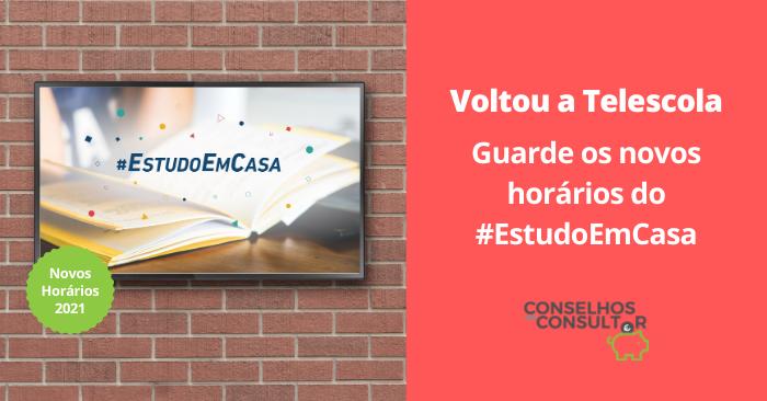 Voltou a Telescola – Descarregue os novos horários do #EstudoEmCasa