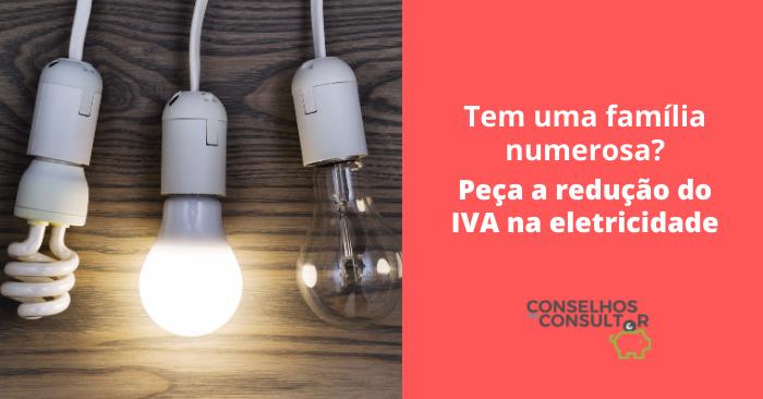 Redução IVA Eletricidade