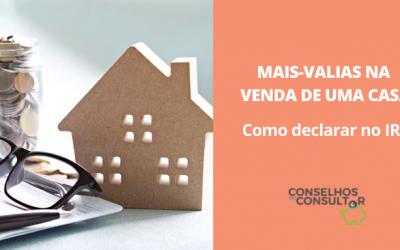 Mais-valias na venda de uma casa: como declarar no IRS