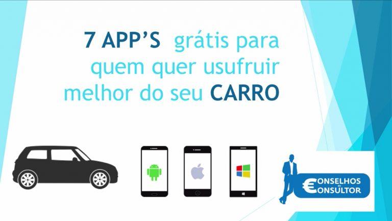 7 apps para o carro