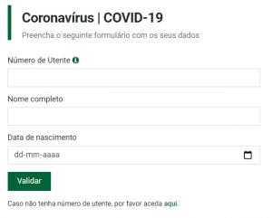 Formulário Simulador Fase 1 Vacinação Covid-19