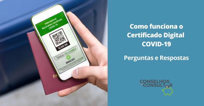 Como funciona o Certificado Digital COVID-19: perguntas e respostas