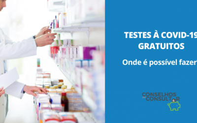 Testes comparticipados à COVID-19: onde é possível fazer?