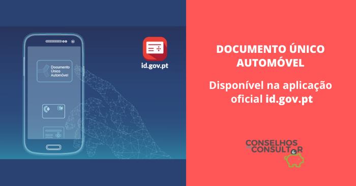 Documento Único Automóvel – Disponível na app id.gov.pt