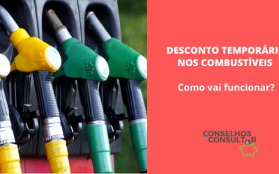 Desconto temporário nos combustíveis – Como vai funcionar?