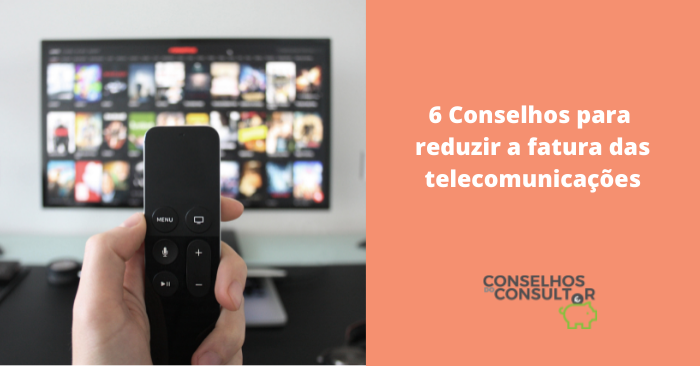 Reduzir fatura telecomunicações