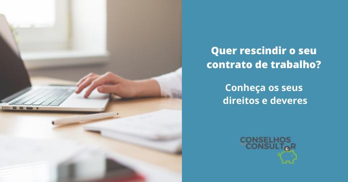 Rescindir Contrato Trabalho